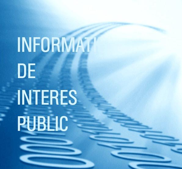 informatii de interes public primarii