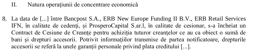 ERB New Europe Funding II BV