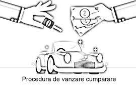 procedura de vanzare a unei masini