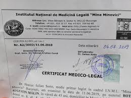Certificat medico legal